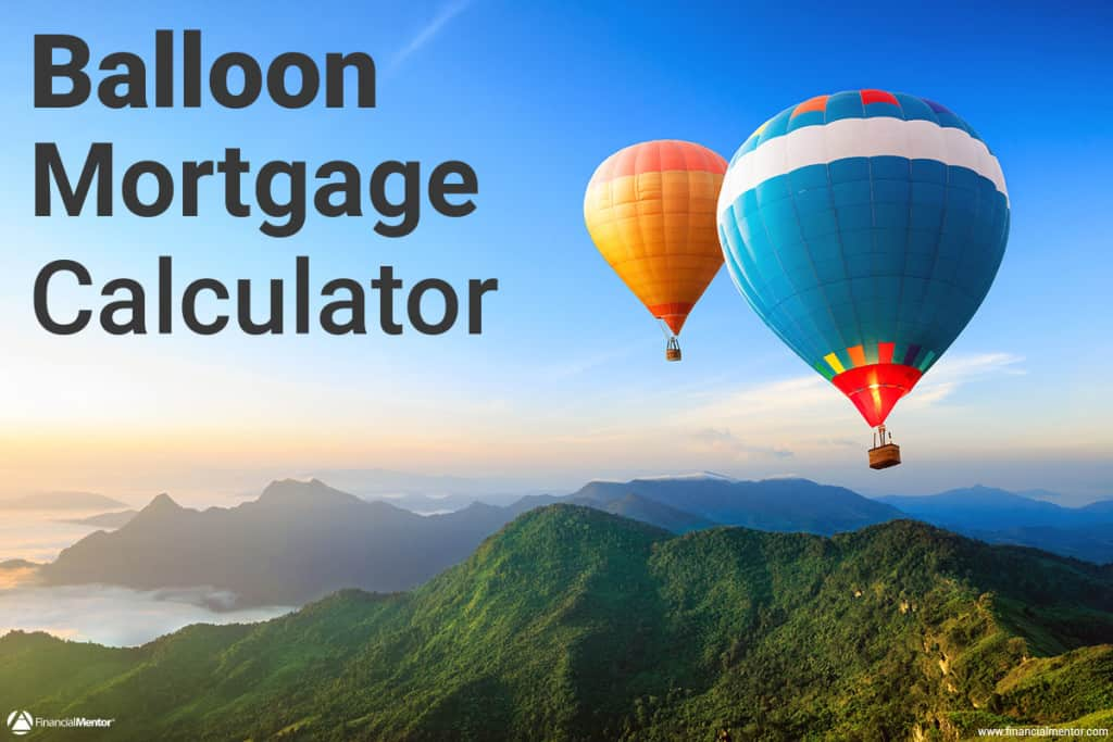 balloon mortgage calculator image