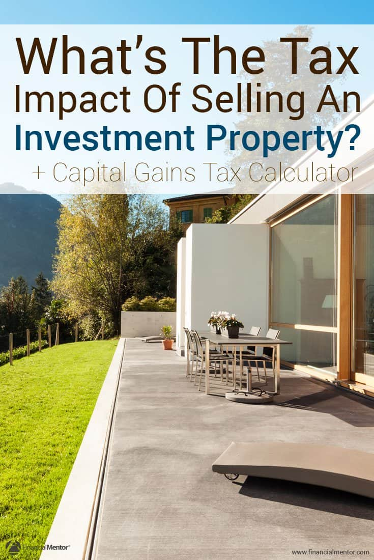 When thinking about selling an investment property, it's important to know what the tax impact will be. You might be better off doing a 1031 exchange and deferring the tax. This calculator will tell you which move to make.