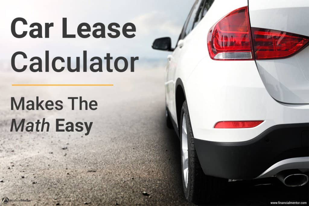 car lease calculator image