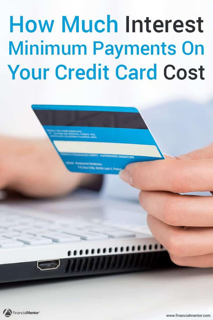 credit card minimum payment calculator