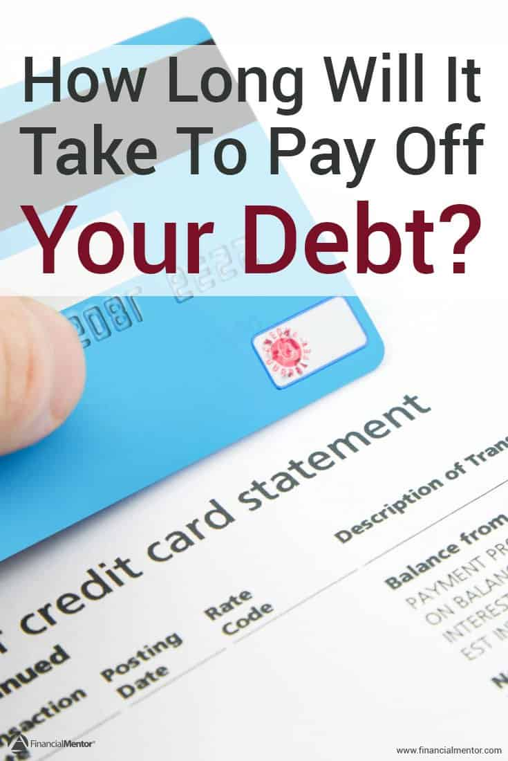 Having a debt free date can help give you motivation to pay off your debt faster. Use this free calculator to get your debt payoff date based on your current payments and balance, as well as tips and tricks to getting out of debt.