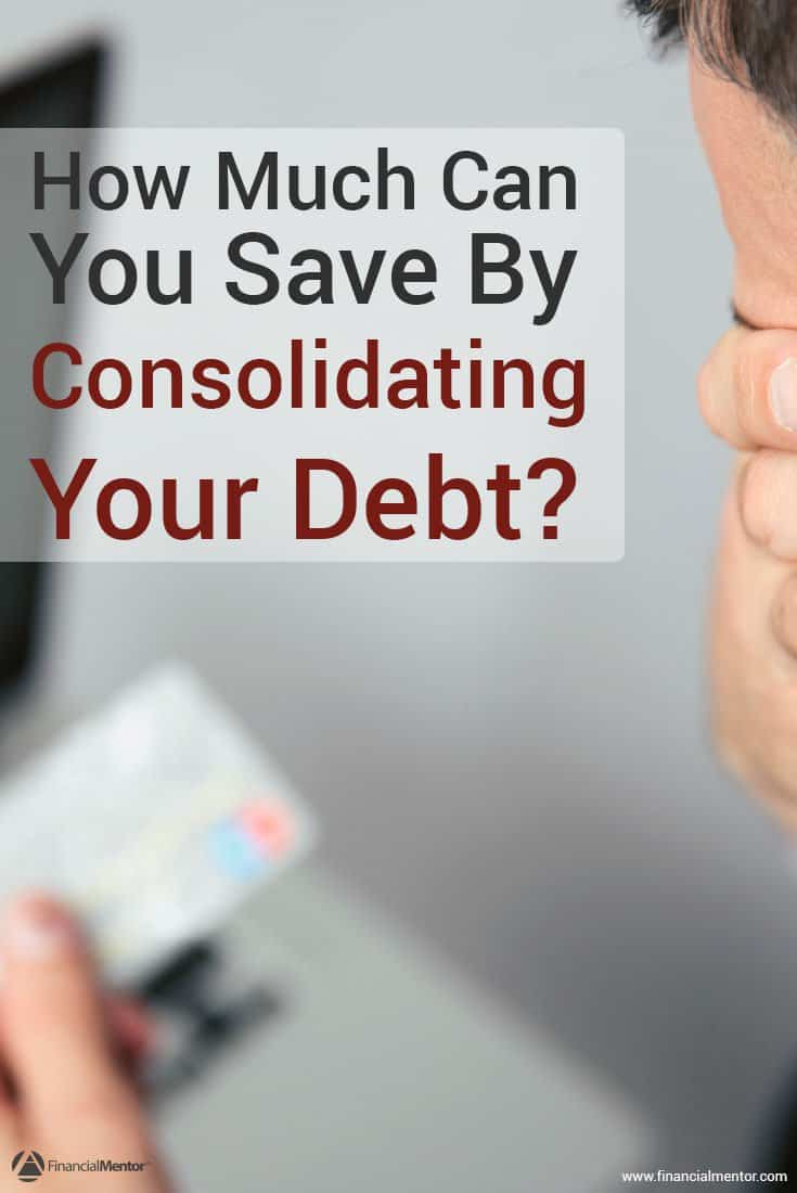 Consolidating your debt might seem like a good move, especially if you have a lot of debt to the point where it's difficult to keep track of. However, you should run the numbers to make sure it's worth rolling all of your debt into a new loan. This free calculator can help!