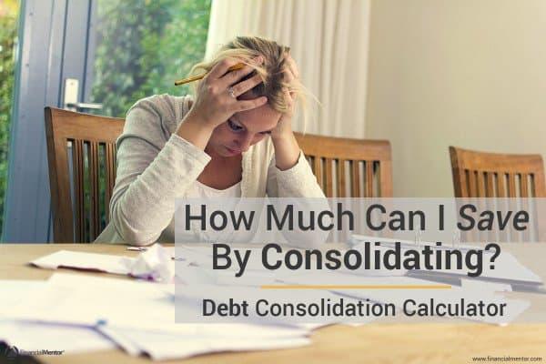 debt consolidation calculator image