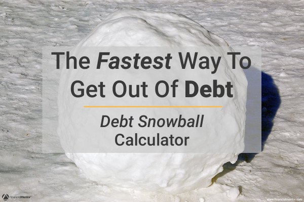 debt snowball calculator image