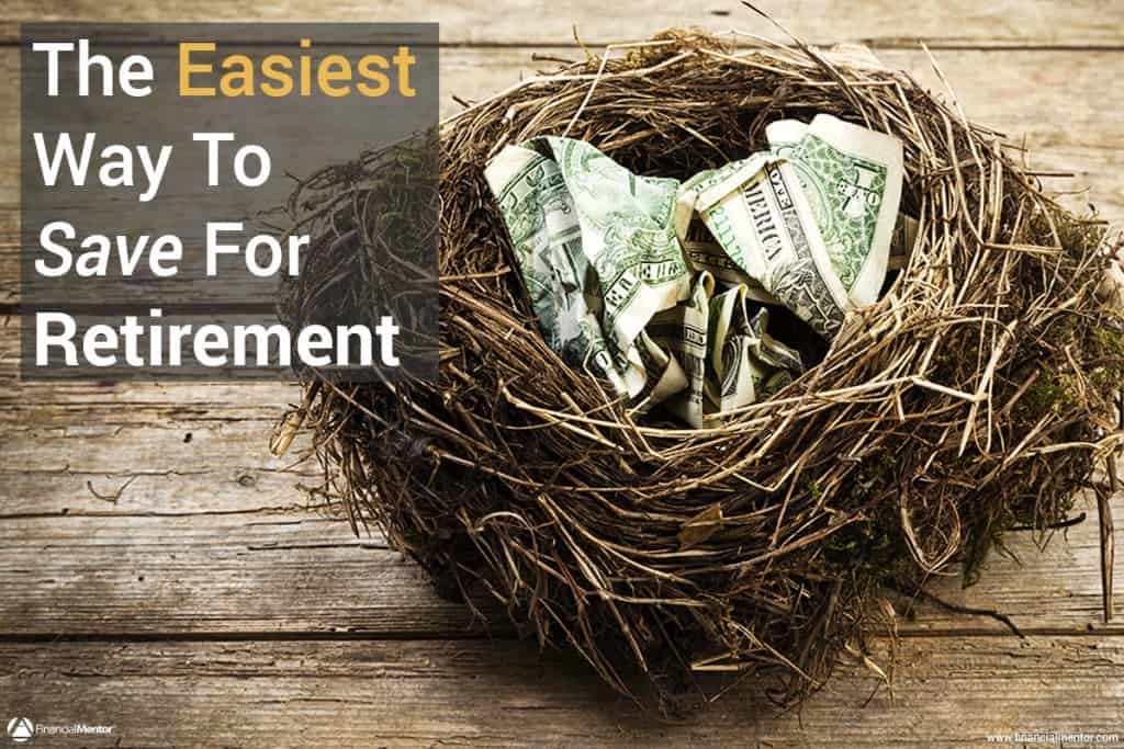 easiest way to save for retirement calculator image
