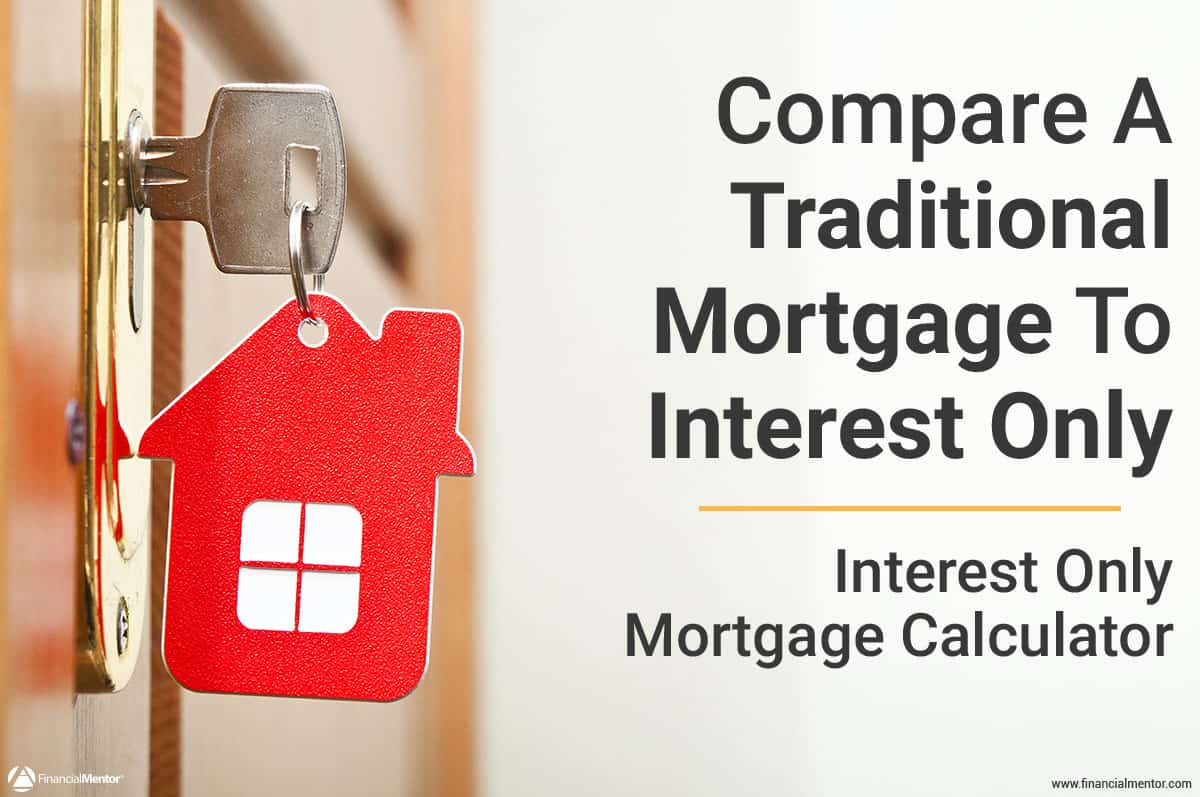 interest only mortgage calculator