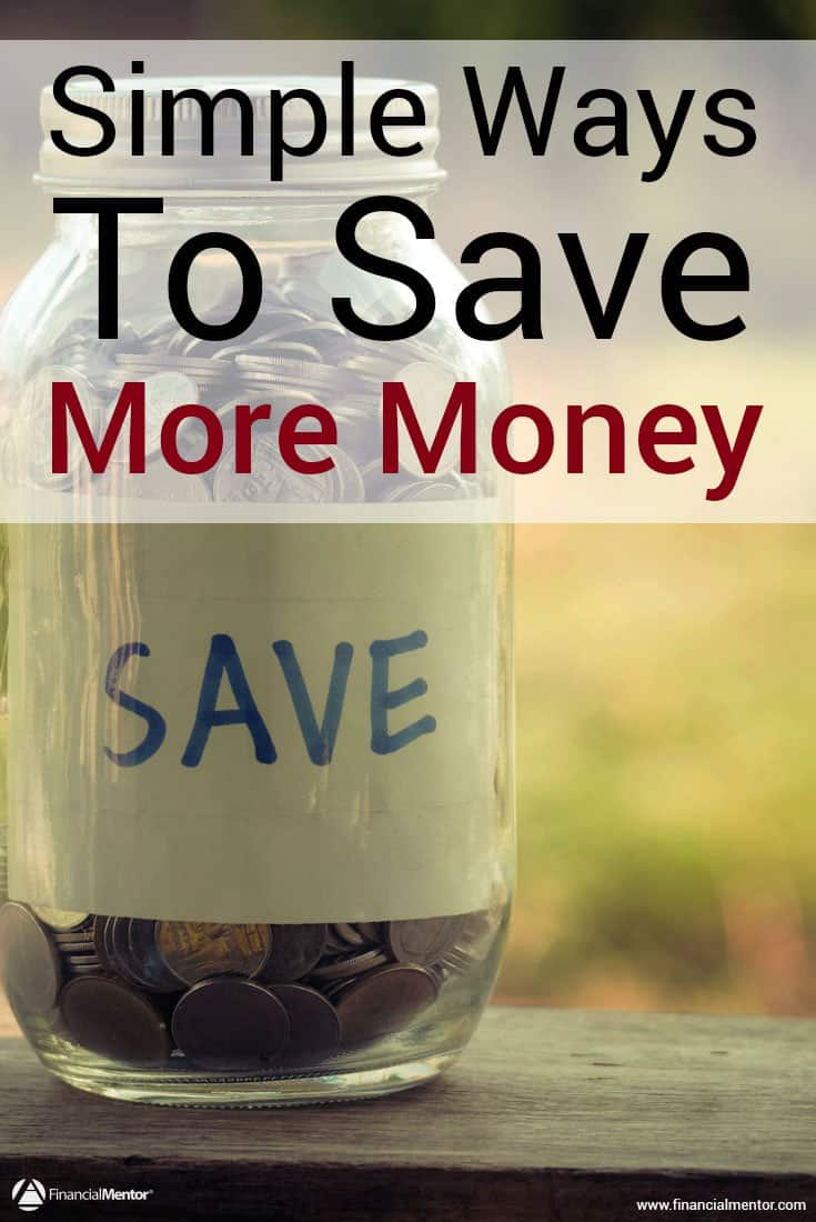 Saving money doesn't come easily or naturally to a lot of people, but there are many ways you can make saving money easier on yourself. Here are a few money-saving tips, along with a calculator you can use to see how much money you'd actually save by making a change in your spending habits.