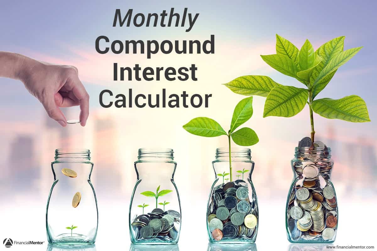 monthly compound interest calculator