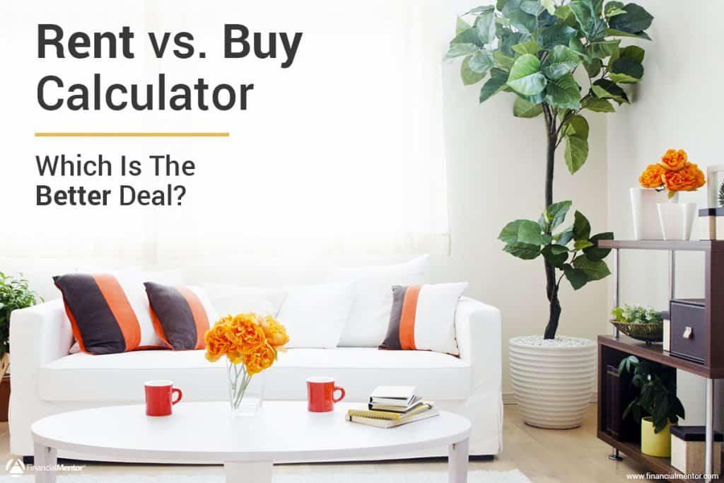 rent vs buy calculator image