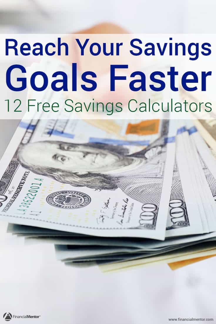 Saving money gives you options and more freedom than you ever had before, but it can be hard to do. These free calculators can help you achieve your savings goals, and they all offer tips on how to save money quickly and easily.