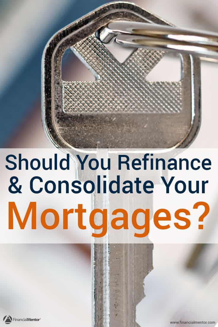 Can consolidating and refinancing your mortgages save you money? Use this calculator to find out when (or if) you'll break even, how much you'll save, and what your monthly payments will look like.
