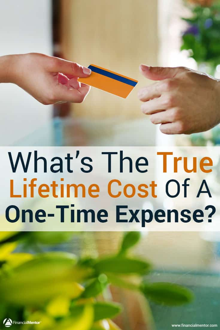 One-time expenses can end up costing you more than you think over the course of a lifetime. Find out how much your expenses are costing you in terms of future wealth growth using this calculator.
