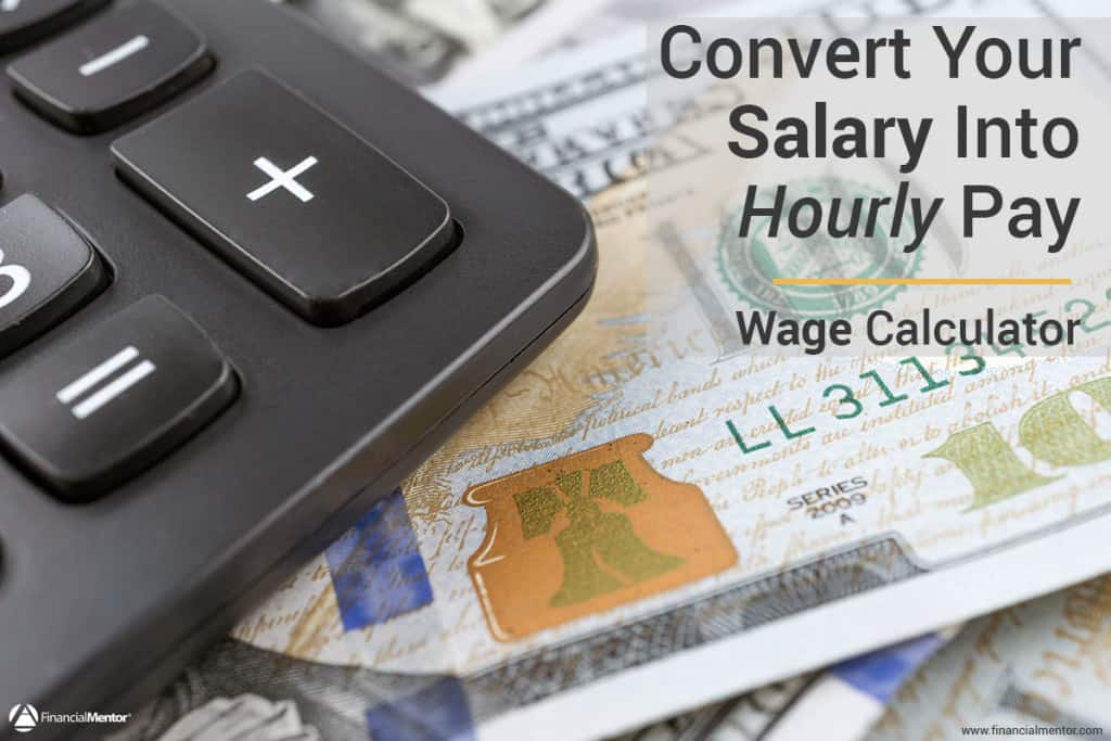 Convert your salary into hourly pay using this simple wage calculator